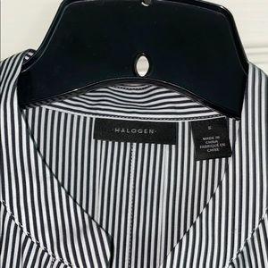 Halogen Boyfriend Longsleeve dress shirt